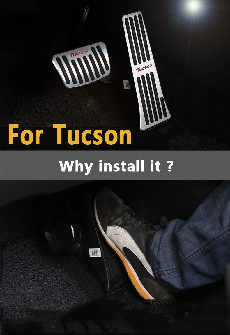 Pedal de freno de aleaci/ón de aluminio para Tucson 2015-2018