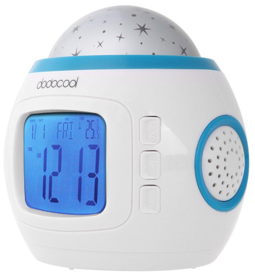 SaySure - Music Starry Star Sky Projection Alarm Clock Clock Clock Calendar Thermometer For Best gift - DE-BG-SPT-000620 B00RGSXZKG Zubehr & Gerte Gute Qualität 14668f