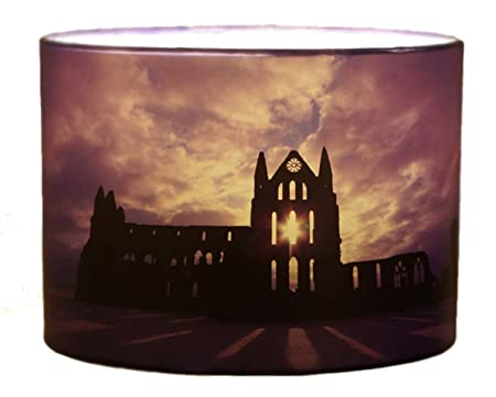 Whitby abbey lampshade 30cm drum lamp shade purple gothic amazon whitby abbey lampshade 30cm drum lamp shade purple gothic aloadofball Image collections