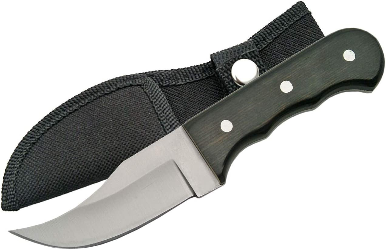 SZCO Supplies 211187 Full Tang Short Skinning Knife