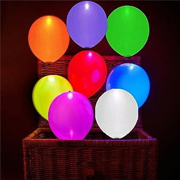 LED Helium Balloon Leucht Luftballon Geburtstag Hochzeit Weihnachten Party Neu