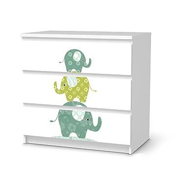 Creatisto Mobelfolie Ikea Malm 3 Schubladen Deko Fur Kinderzimmer