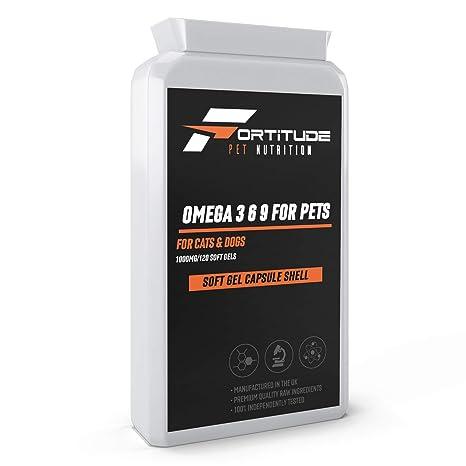 Omega 3 6 9 para mascotas 100 mg 120 cápsulas | Suplemento de ...