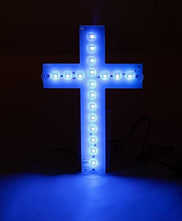 All Ride Cross Light 24 Volt With 18 Leds Multi Colour For Lorry Cab Trucker Interior Equipment Auto
