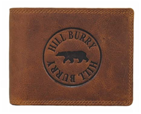 0c339d9b75d8c Geldbörse Herren Leder Portemonnaie Brieftasche Portmonee Geldbeutel  KreditKartenetui Wallet Vintage Organizer Reisebrieftasche aus hochwertigem  Echt-