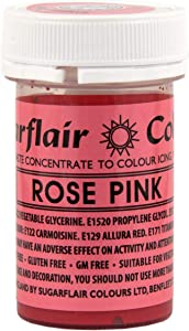 Rose Pink - Sugarflair Colouring Paste - 25g