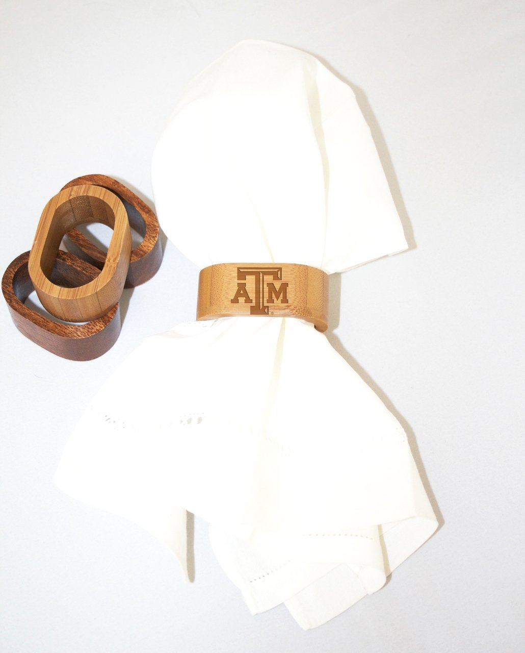 Texas A&M Napkin Rings