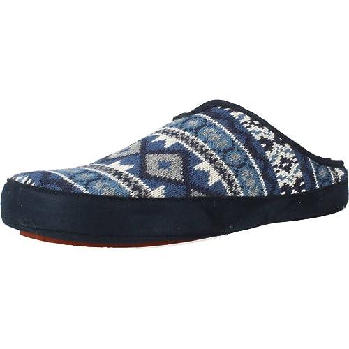 Zapatillas de Estar por casa de Hombre, Color Azul, Marca NORDIKAS, Modelo Zapatillas De Estar por Casa De Hombre NORDIKAS Bama Azul: Amazon.es: Zapatos y ...