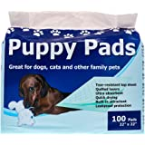 StayDry Pee Pads for Dogs - Durable, Super Absorbent, Layered Leak Proof Dog Pee Pads - Multi-Use including Puppy Crate Train