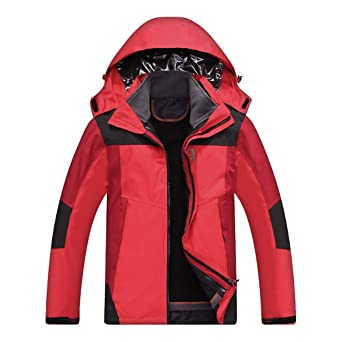 Amazon.com: Goddessvan 2019 Men Waterproof Winter Jacket ...