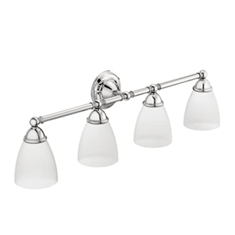 Moen YB2264CH Brantford Bath Lighting, Chrome Wall Lights at amazon
