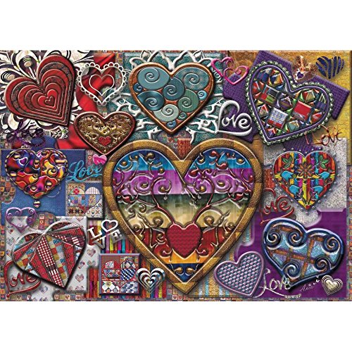 JaCaRou Puzzles Hearts of Glass 1000 Pieces Jigsaw Puzzle]()