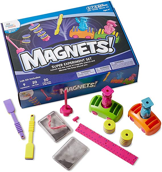hand2mind MAGNETS! Super STEM Kits For Kids Ages 8-12