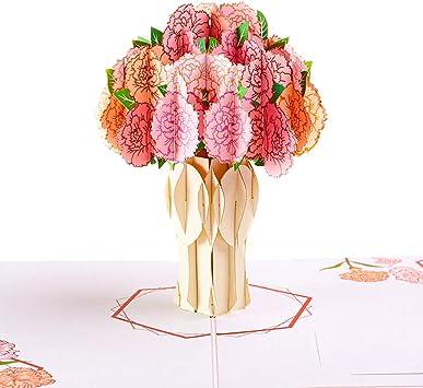 Lot Of 5 New Pop Greetings Congratulations Wedding 3D Pop Up Gift Card Holder