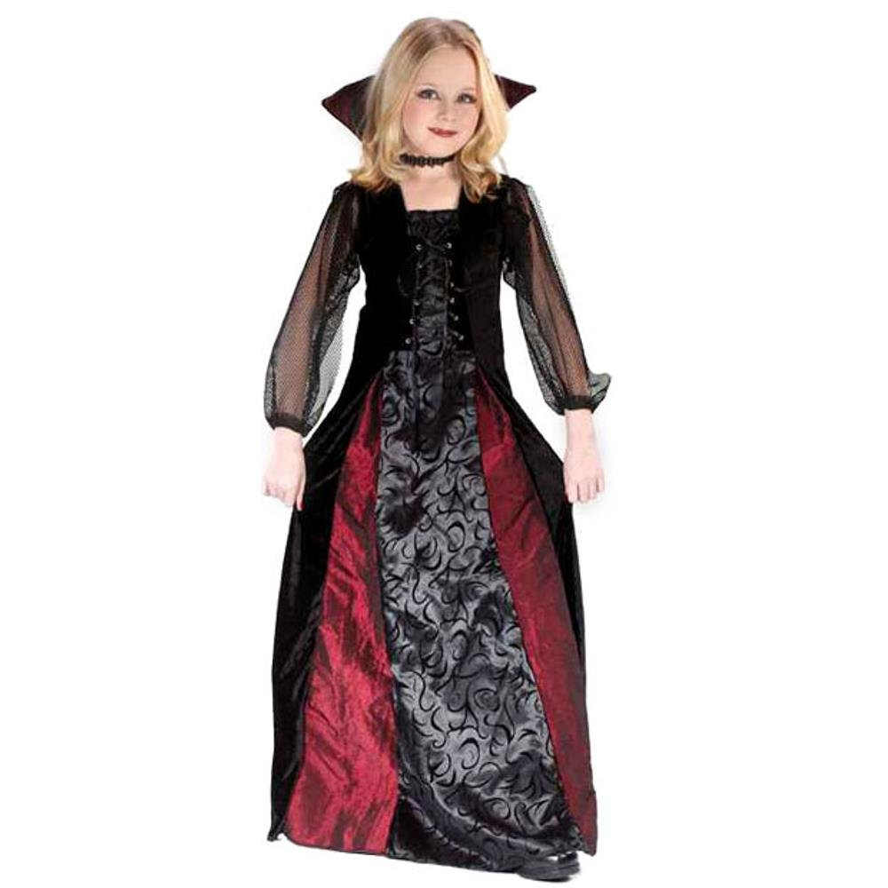 amazoncom girls gothic maiden vamp halloween costume small 4 6 toys games - Halloween Costumes Vampire For Girls