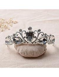 Bella-Vouge Luxury Crystal Wedding Bridal Prom Pageant Princess Costume Tiara Crown