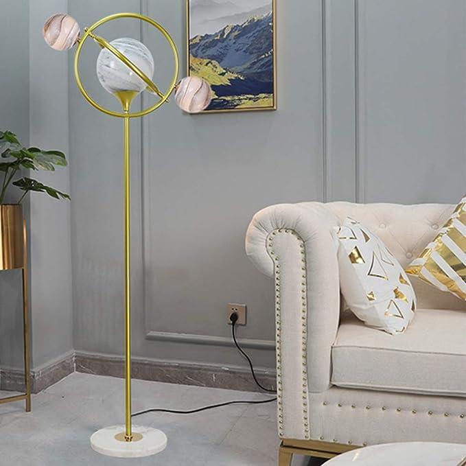 Lámpara de pie lámpara de pie de modelado planetaria creativa ...