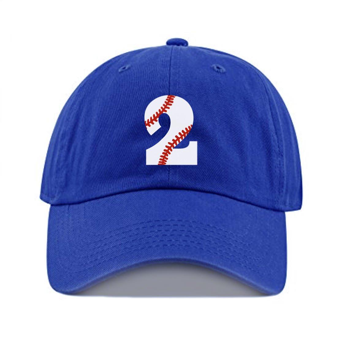 343a6404 Amazon.com: Toddler Baseball Cap Boy or Girl 2nd Birthday Kids Hat Baseball  2 Sports Hat Two Bday Tee Ball: Clothing