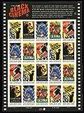 Vintage Black Cinema 20 x 42 cent U.S. Postage U.S. Postage Stamps