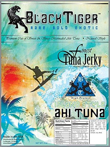 Black Tiger Tuna Jerky Island Style