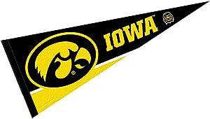 College Flags & Banners Co. Iowa Hawkeyes Pennant Full Size Felt