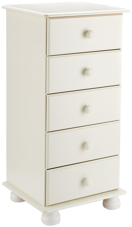 Steens Furniture 3022050050000F/1022050050000N - Comò Richmond, in pino massiccio, 91 x 44 x 39 cm, colore: Bianco B005SQKM4K