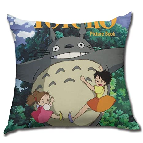 Amazon.com: GeorgeLHedman My Neighbor Totoro Square Pillow ...
