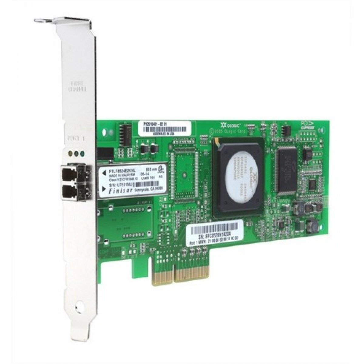 HP 489190-001 8GB 1-Port Fibre Channel HBA (Certified Refurbished)