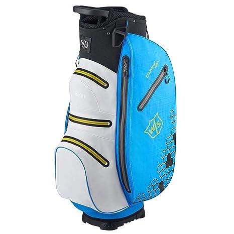 Wilson Golf, Bolsa para Carro W/S Dry Tech II, Azul/Blanco ...