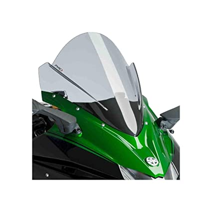 Amazon.com: 18 KAWASAKI NINJA-H2SX: Puig Racing Windscreen ...