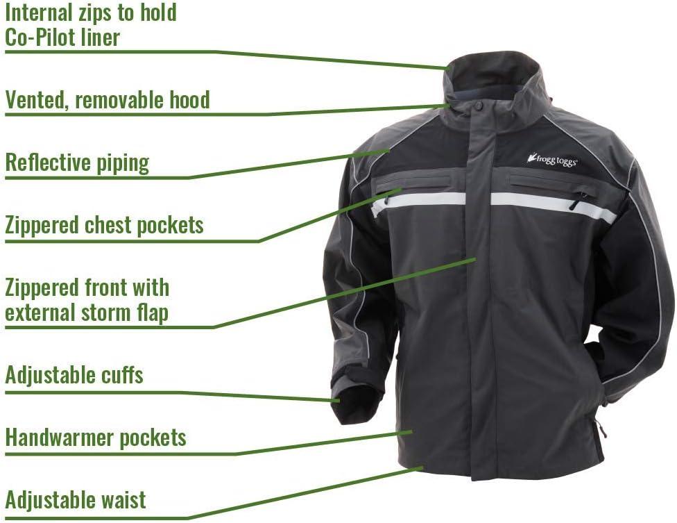 Frogg Toggs Pilot II Illuminator Reflective Rain Jacket