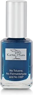 product image for Karma Organic Natural Nail Polish-Non-Toxic Nail Art, Vegan and Cruelty-Free Nail Paint (NAVY BLUES)