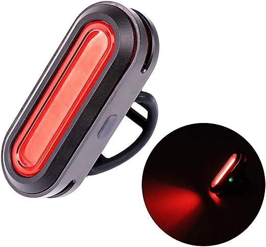 LILYTING - Luz USB Recargable para Bicicleta, luz Frontal, luz ...
