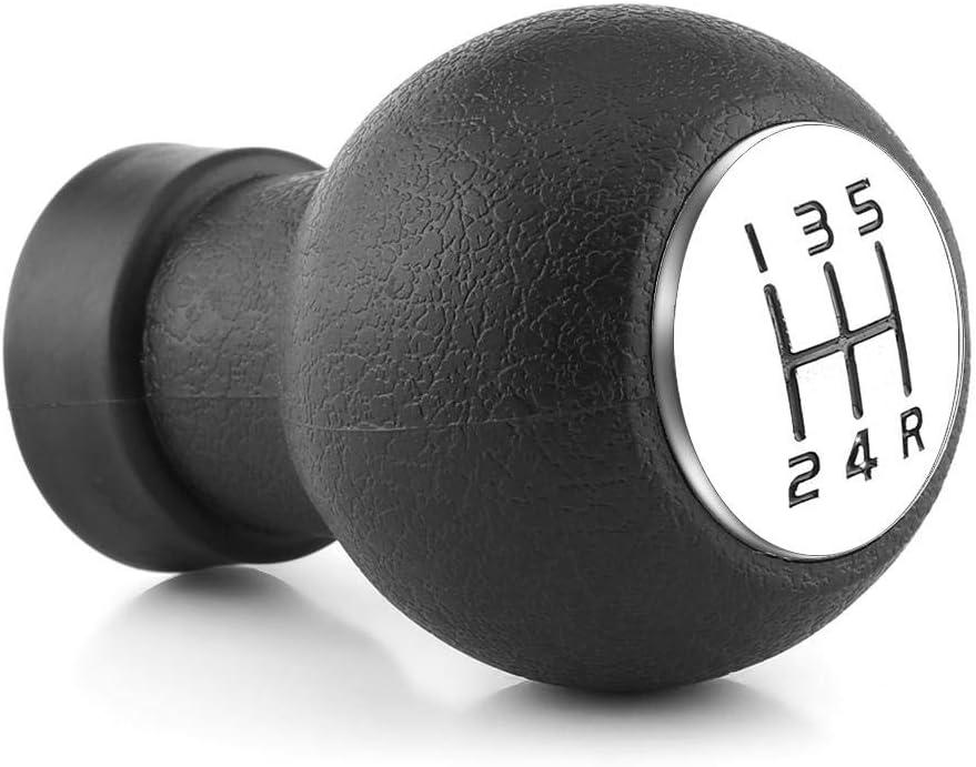Acouto 5 Speed Durable Car Gear Shift Shifter Knob Stick Head For Suzuki Swift SX4 2005-2010