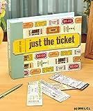 Ticket Stub Organizer Keepsake Album Scrapbook Notes Photo Concert Event