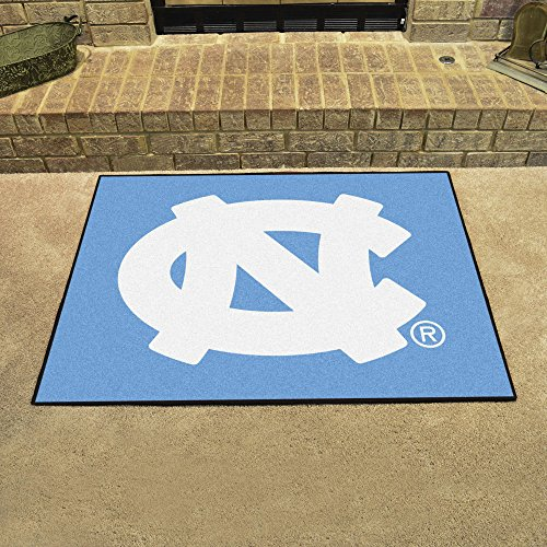 Fanmats Ncaa UNC North Carolina - Chapel Hill College Sports Team Logo Home Bathroom Decorative Welcome Floor Mat All-Star Rugs 34