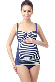 10e2643bce Momo Maternity UPF 50+ One Piece Swimsuit for Women at Amazon ...