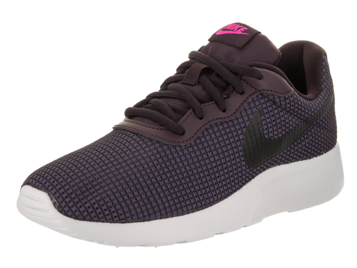 NIKE Women's Tanjun Running Shoes B06VSY982C 8.5|Port Wine/Dark Raisin