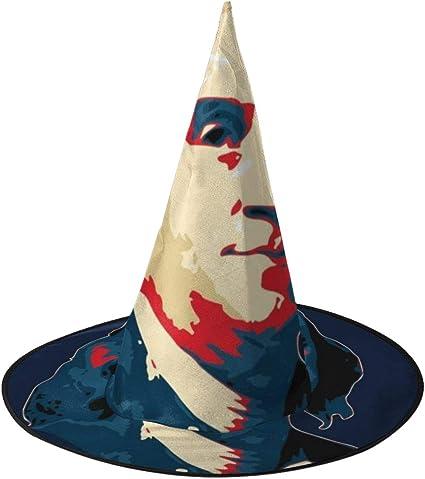 KUKHKU Benjamin Franklin Pop Art Sombrero de Bruja Unisex Disfraz ...