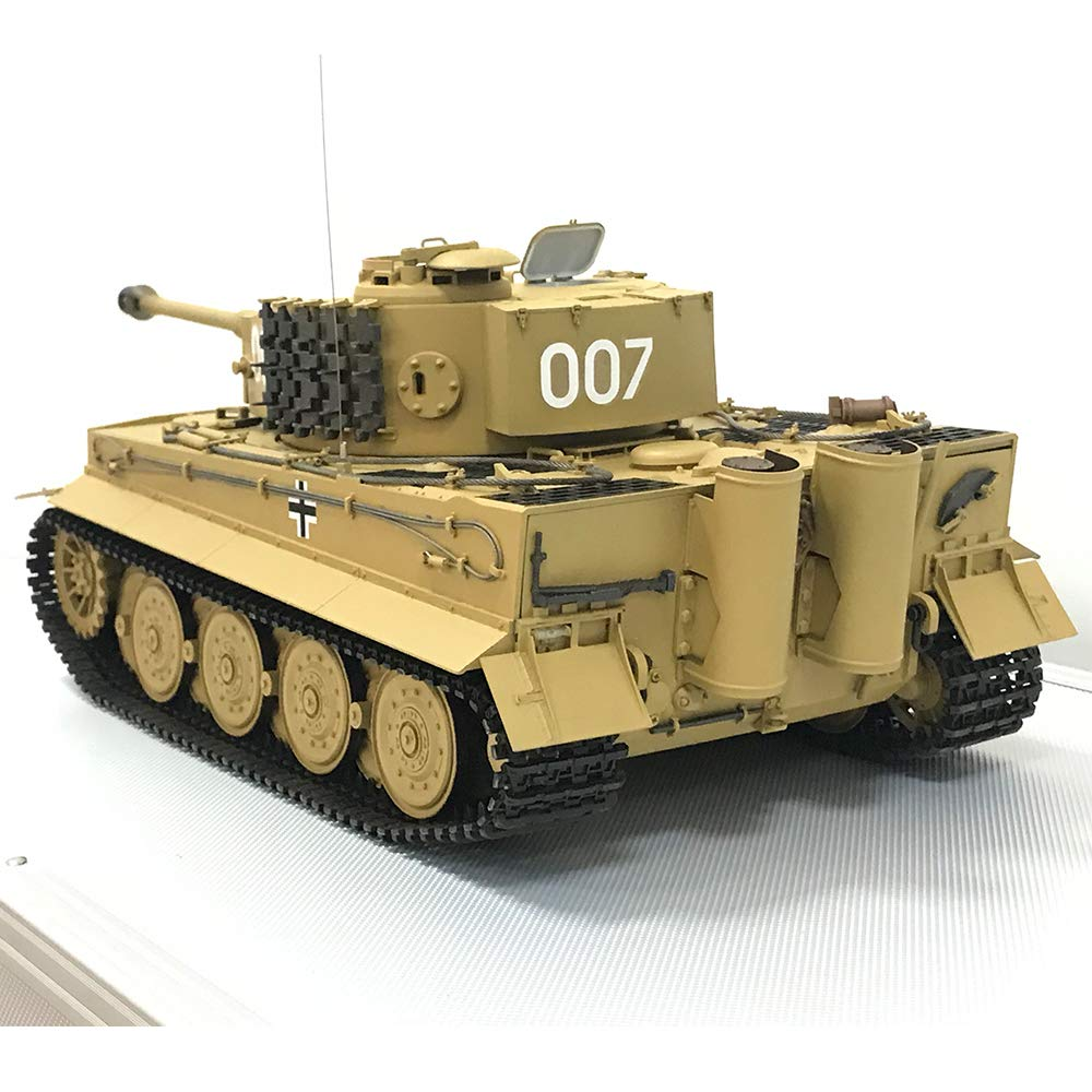 HOOBEN 1:16 German Tiger Production Delays (Wittmann) montó un ...