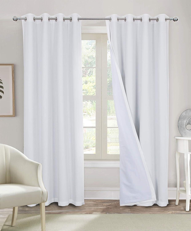 100% Blackout Curtains for Bedroom White Soft Living Special sale item Cheap mail order shopping Room Velvet