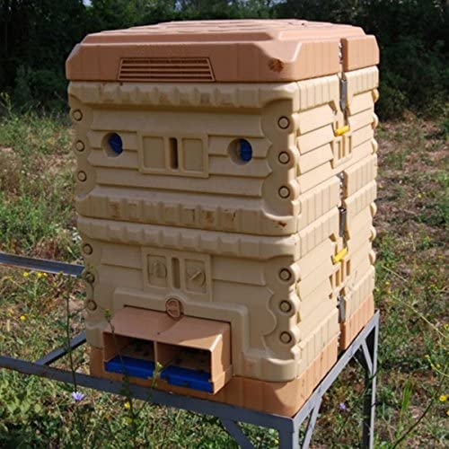 apimaye Thermo Bee Hive & profundo Super – Juego de Colmena de plástico aislante – langstroth: Amazon.es: Jardín