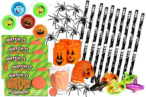 40 Piece Mega Halloween goody bags; Spectacular Halloween toy assortment, Halloween Party Favors Goody Bag Filler. Greatest and best Halloween toys for kids, a must for (Halloween Face Ideas)