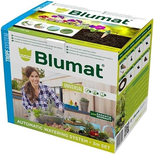 Blumat Sistema de riego automático Kit de inicio de 3 m: Amazon.es ...