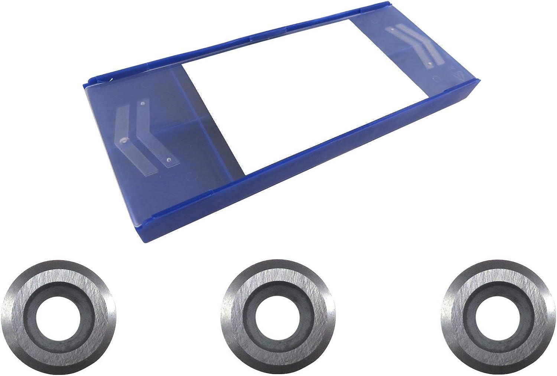 Set 3 each Easy Wood Tools Ci3-NR Round Negatie Rake Carbide Cutters #6400NR