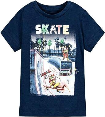 Mayoral - Camiseta de algodón para niño: Amazon.es: Ropa y accesorios