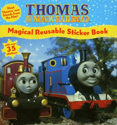 Thomas and the Magic Railroad: Magical Reusable Sticker Book