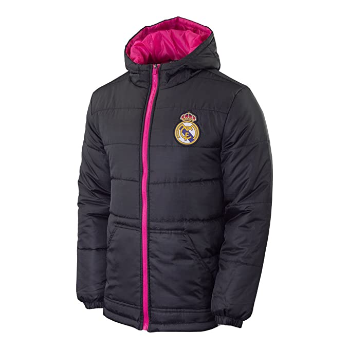 Amazon.com : Real Madrid Fc Jacket Light Down Padded Mens ...