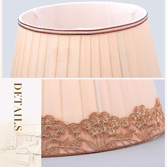 Pantalla de seda plisada, Cubierta de la lámpara de la ...