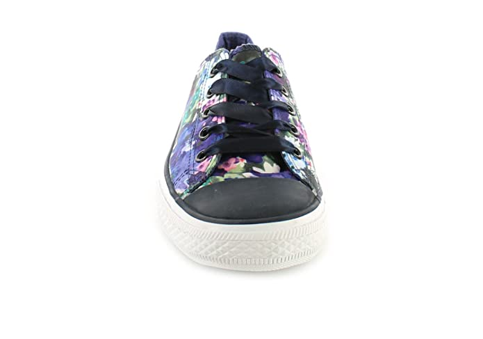 535cb7c73d1f Wynsors New Ladies Womens Bright Floral Extra Wide Fitting Lace Ups Pumps.  - Bright Floral - UK Size 10  Amazon.co.uk  Shoes   Bags